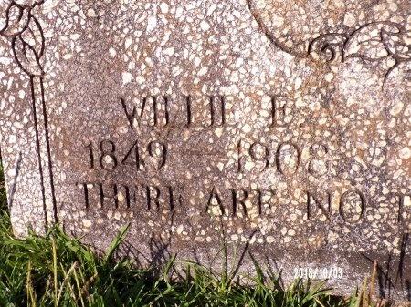 THOMAS, WILLIE E (CLOSE UP) - Union County, Louisiana   WILLIE E (CLOSE UP) THOMAS - Louisiana Gravestone Photos