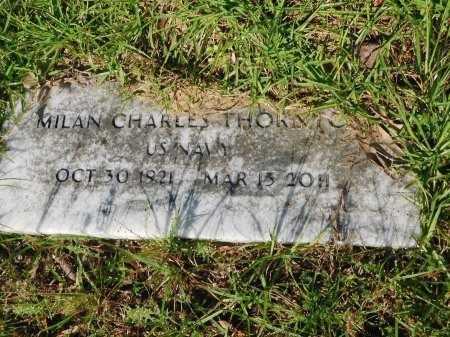 THORNTON, MILAN CHARLES (VETERAN) - Union County, Louisiana | MILAN CHARLES (VETERAN) THORNTON - Louisiana Gravestone Photos