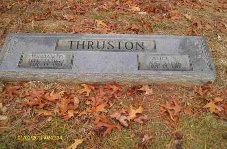 THRUSTON, WILLIAM D - Union County, Louisiana   WILLIAM D THRUSTON - Louisiana Gravestone Photos