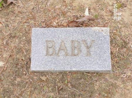 UNKNOWN, BABY - Union County, Louisiana | BABY UNKNOWN - Louisiana Gravestone Photos