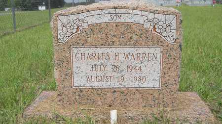 WARREN, CHARLES H - Union County, Louisiana | CHARLES H WARREN - Louisiana Gravestone Photos