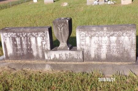 WARREN, ALONZO - Union County, Louisiana | ALONZO WARREN - Louisiana Gravestone Photos
