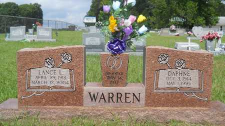 WARREN, DAPHNE - Union County, Louisiana | DAPHNE WARREN - Louisiana Gravestone Photos