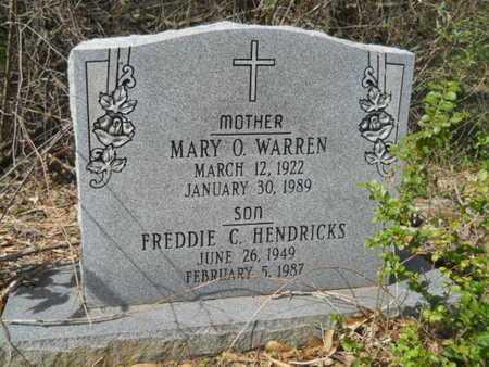 WARREN, MARY O - Union County, Louisiana | MARY O WARREN - Louisiana Gravestone Photos