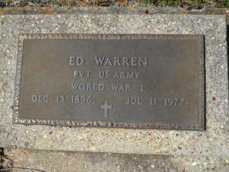 WARREN, ED (VETERAN WWI) - Union County, Louisiana | ED (VETERAN WWI) WARREN - Louisiana Gravestone Photos