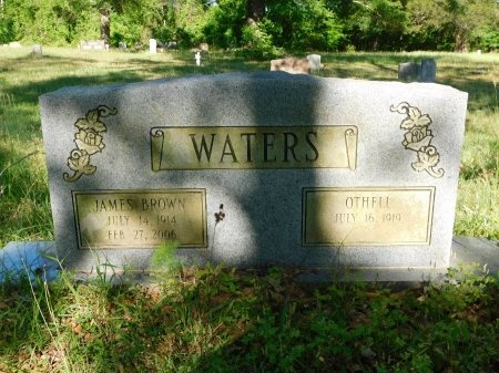 WATERS, JAMES BROWN - Union County, Louisiana   JAMES BROWN WATERS - Louisiana Gravestone Photos