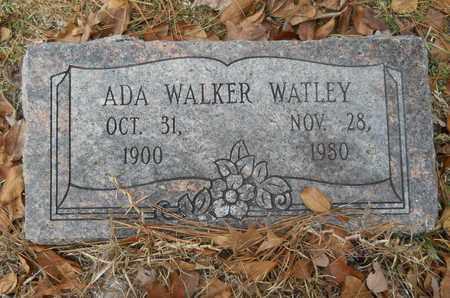 WATLEY, ADA - Union County, Louisiana   ADA WATLEY - Louisiana Gravestone Photos