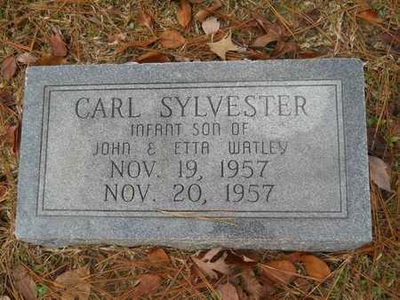 WATLEY, CARL SYLVESTER - Union County, Louisiana   CARL SYLVESTER WATLEY - Louisiana Gravestone Photos