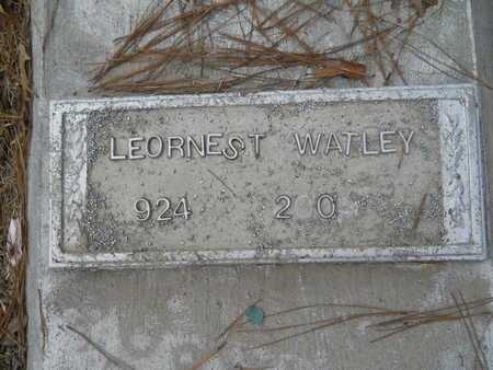 WATLEY, LEORNEST - Union County, Louisiana | LEORNEST WATLEY - Louisiana Gravestone Photos
