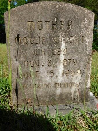 WATLEY, MOLLIE - Union County, Louisiana   MOLLIE WATLEY - Louisiana Gravestone Photos