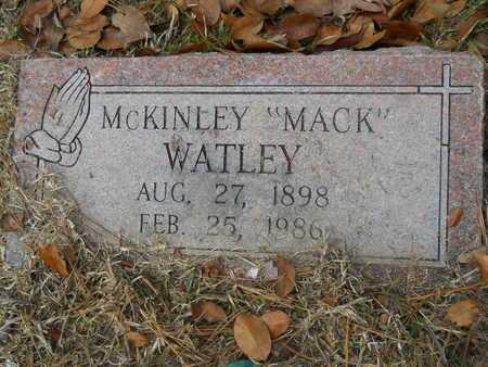 "WATLEY, MCKINLEY ""MACK"" - Union County, Louisiana   MCKINLEY ""MACK"" WATLEY - Louisiana Gravestone Photos"