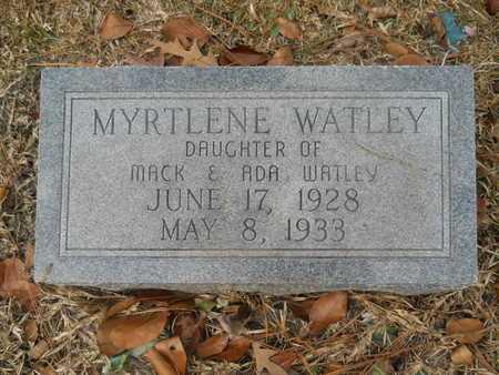 WATLEY, MYRTLENE - Union County, Louisiana   MYRTLENE WATLEY - Louisiana Gravestone Photos