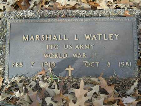 WATLEY, MARSHALL L (VETERAN WWII) - Union County, Louisiana | MARSHALL L (VETERAN WWII) WATLEY - Louisiana Gravestone Photos