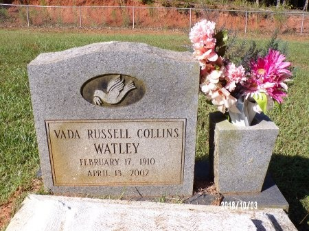 WATLEY, VADA - Union County, Louisiana | VADA WATLEY - Louisiana Gravestone Photos