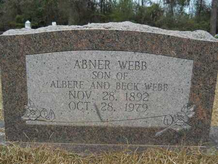 WEBB, ABNER - Union County, Louisiana | ABNER WEBB - Louisiana Gravestone Photos