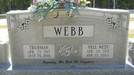 WEBB, NELL - Union County, Louisiana | NELL WEBB - Louisiana Gravestone Photos