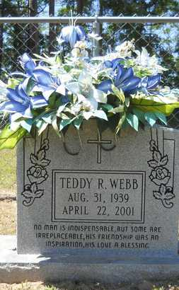 WEBB, TEDDY R - Union County, Louisiana   TEDDY R WEBB - Louisiana Gravestone Photos