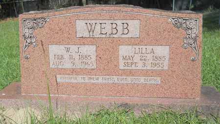 WEBB, LILLA - Union County, Louisiana | LILLA WEBB - Louisiana Gravestone Photos