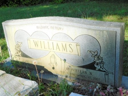 WILLIAMS, MERVIELEAN N - Union County, Louisiana | MERVIELEAN N WILLIAMS - Louisiana Gravestone Photos