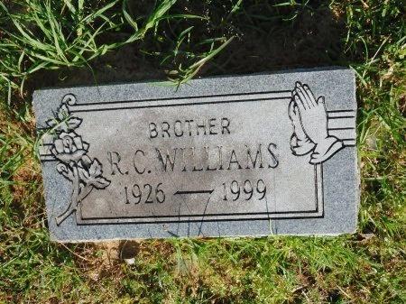 WILLIAMS, R C - Union County, Louisiana | R C WILLIAMS - Louisiana Gravestone Photos