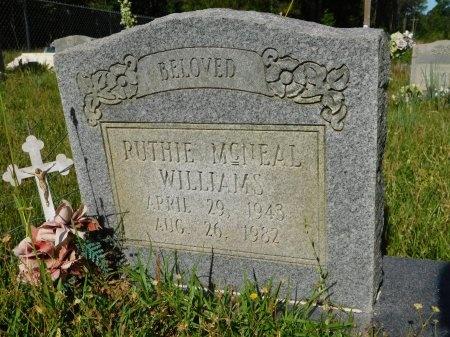 MCNEAL WILLIAMS, RUTHIE - Union County, Louisiana | RUTHIE MCNEAL WILLIAMS - Louisiana Gravestone Photos