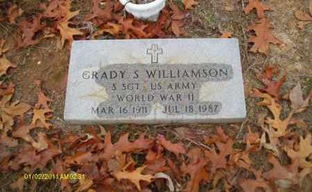 WILLIAMSON, GRADY S (VETERAN WWII) - Union County, Louisiana | GRADY S (VETERAN WWII) WILLIAMSON - Louisiana Gravestone Photos