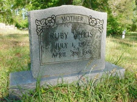 WILLIS, RUBY - Union County, Louisiana | RUBY WILLIS - Louisiana Gravestone Photos