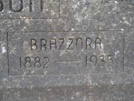WILSON, BRAZZORA (CLOSE UP) - Union County, Louisiana   BRAZZORA (CLOSE UP) WILSON - Louisiana Gravestone Photos