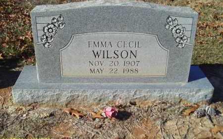 WILSON, EMMA CECIL - Union County, Louisiana | EMMA CECIL WILSON - Louisiana Gravestone Photos