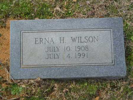 WILSON, ERNA H - Union County, Louisiana   ERNA H WILSON - Louisiana Gravestone Photos
