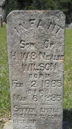 WILSON, INFANT SON - Union County, Louisiana   INFANT SON WILSON - Louisiana Gravestone Photos
