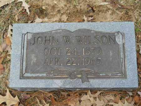 WILSON, JOHN W - Union County, Louisiana   JOHN W WILSON - Louisiana Gravestone Photos