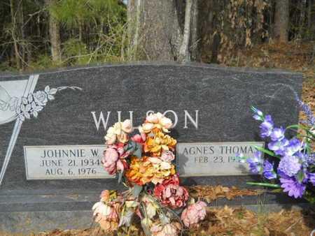 WILSON, JOHNNIE W - Union County, Louisiana | JOHNNIE W WILSON - Louisiana Gravestone Photos