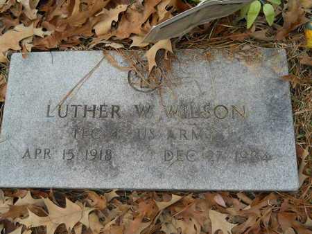 WILSON, LUTHER W (VETERAN) - Union County, Louisiana | LUTHER W (VETERAN) WILSON - Louisiana Gravestone Photos