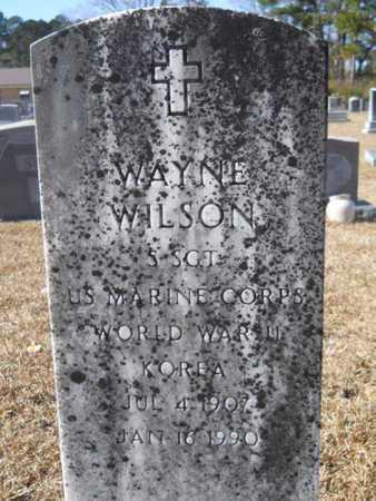 WILSON, WAYNE (VETERAN 2 WARS) - Union County, Louisiana | WAYNE (VETERAN 2 WARS) WILSON - Louisiana Gravestone Photos