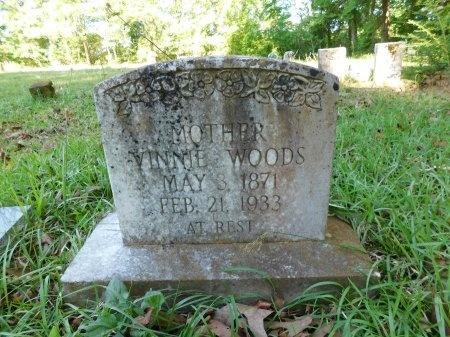 WOODS, VINNIE - Union County, Louisiana | VINNIE WOODS - Louisiana Gravestone Photos