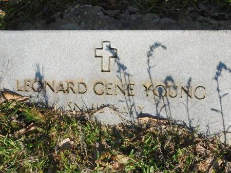 YOUNG, LEONARD GENE (VETERAN) - Union County, Louisiana | LEONARD GENE (VETERAN) YOUNG - Louisiana Gravestone Photos