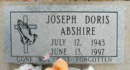 ABSHIRE, JOSEPH DORIS - Vermilion County, Louisiana | JOSEPH DORIS ABSHIRE - Louisiana Gravestone Photos