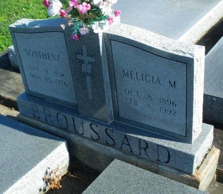 BROUSSARD, MELICIA - Vermilion County, Louisiana | MELICIA BROUSSARD - Louisiana Gravestone Photos
