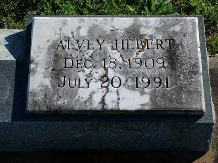 HEBERT, ALVEY - Vermilion County, Louisiana   ALVEY HEBERT - Louisiana Gravestone Photos