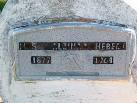HEBERT, ALZINA, MRS - Vermilion County, Louisiana   ALZINA, MRS HEBERT - Louisiana Gravestone Photos