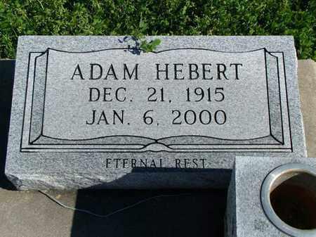 HEBERT, ADAM - Vermilion County, Louisiana | ADAM HEBERT - Louisiana Gravestone Photos