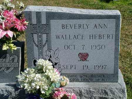 HEBERT, BEVERLY ANN - Vermilion County, Louisiana | BEVERLY ANN HEBERT - Louisiana Gravestone Photos