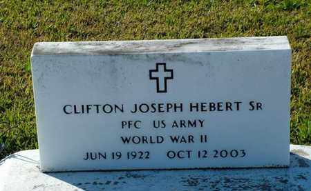 HEBERT, CLIFTON JOSEPH , SR  (VETERAN WWII) - Vermilion County, Louisiana   CLIFTON JOSEPH , SR  (VETERAN WWII) HEBERT - Louisiana Gravestone Photos