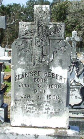 HEBERT, CLARISSE - Vermilion County, Louisiana | CLARISSE HEBERT - Louisiana Gravestone Photos
