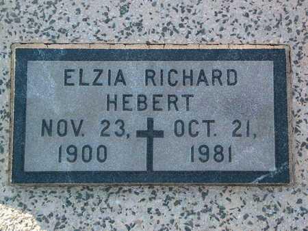 HEBERT, ELZIA - Vermilion County, Louisiana | ELZIA HEBERT - Louisiana Gravestone Photos