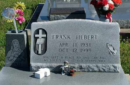 HEBERT, FRANK - Vermilion County, Louisiana | FRANK HEBERT - Louisiana Gravestone Photos