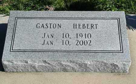 HEBERT, GASTON - Vermilion County, Louisiana   GASTON HEBERT - Louisiana Gravestone Photos