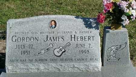 HEBERT, GORDON JAMES - Vermilion County, Louisiana | GORDON JAMES HEBERT - Louisiana Gravestone Photos