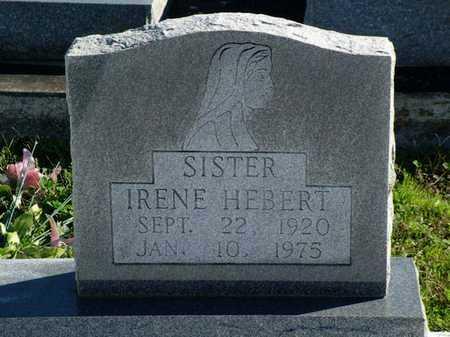 HEBERT, IRENE - Vermilion County, Louisiana | IRENE HEBERT - Louisiana Gravestone Photos